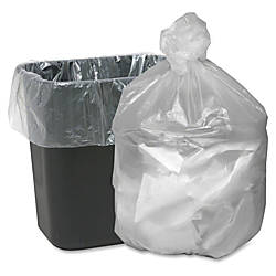Webster Translucent Waste Can Liners Small
