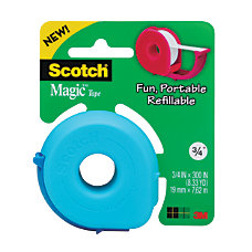 Scotch Magic Tape With Donut Dispenser