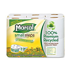 Marcal 100percent Recycled Small Steps Bathroom