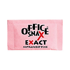 Office Snax Nutrasweet Pink Sweeteners Pack