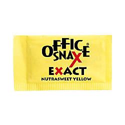 Office Snax Nutrasweet Yellow Sweetener 2000