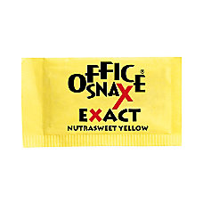 Office Snax Nutrasweet Yellow Sweetener 2000