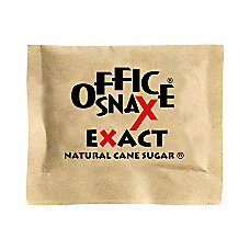 Office Snax Natural Cane Sugar 2000