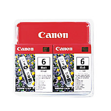 Canon BCI 6 Black Ink Cartridges