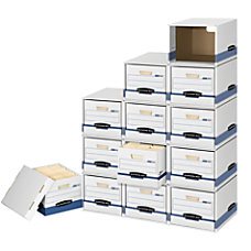 Bankers Box FileCube 60percent Recycled Storage