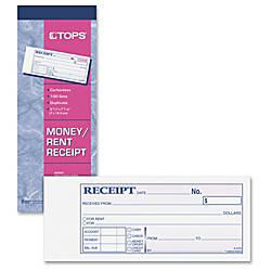 TOPS Money Receipt Book 15 lb