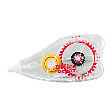 Office Depot Brand Correction Tape Opaque