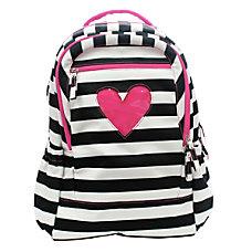 Studio C Pinkaboo 31 Backpack PinkBlackWhite