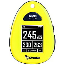 Izzo SWAMI Golf GPS Navigator Yellow