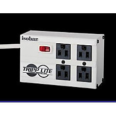 Tripp Lite Isobar Surge Protector Metal
