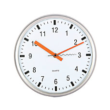 TEMPUS Silent Sweep Wall Clock 10
