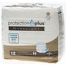 Protection Plus Overnight Protective Underwear X