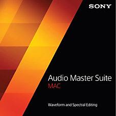 Sony Audio Master Suite Mac Download