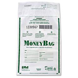PM Company Biodegradable Plastic Money Bags