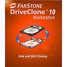 FarStone Drive Clone 10 Workstation Download