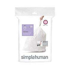 simplehuman Custom Fit Can Liners M