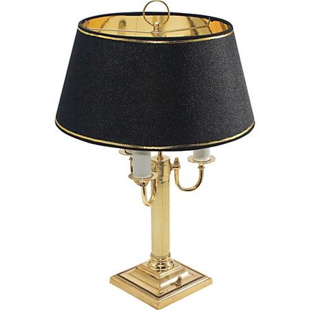 Ledu Three Lamp Candelabra Desk Lamp Brass By Office Depot