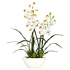 Nearly Natural 30 H Silk Cymbidium