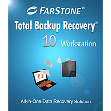 FarStone Total Backup Recovery 10 Workstation