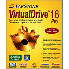 FarStone Virtual Drive Pro 16 Download