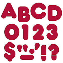 TREND Ready Letters Casual 4 Maroon