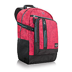 Solo Pop 156 Laptop Backpack Pink