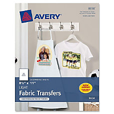 Avery Iron on Transfer Paper Letter