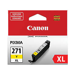 Canon CLI 271XL High Yield Yellow