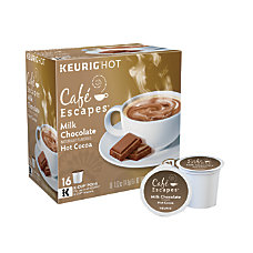 Caf Escapes Milk Chocolate Hot Cocoa