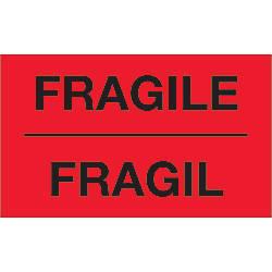Tape Logic Bilingual Labels Fragil 3