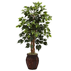 Nearly Natural 44 H Plastic Ficus