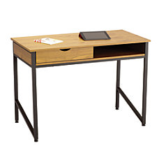 Safco Single Drawer Writing Desk Wood