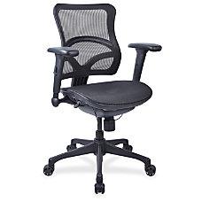 Lorell Full Mesh Mid back Chair