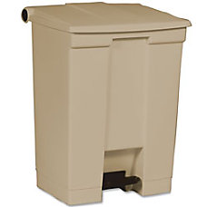 Rubbermaid Step On Wastebaskets 18 Gallons