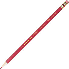 Sanford Verithin Pencil With Eraser Red