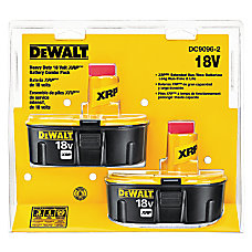 DeWalt XRP Rechargeable Battery Pack Combo