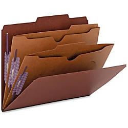 Smead 2 Divider Classification Folders Letter
