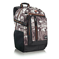 Solo North7th 156 Laptop Backpack TanBrownOrange