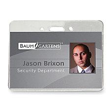 Baumgartens ID Badge Holder 4 x