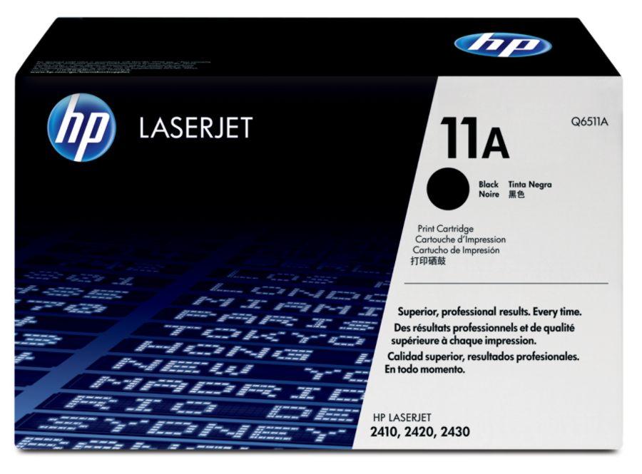 HP 11A Black Original Toner Cartridge Q6511A by Office Depot ...