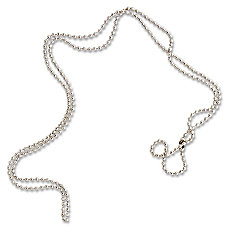 SICURIX Nickel Plated Bead Chains 36