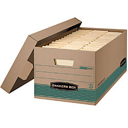 Bankers Box FastFold StorFile Storage Boxes