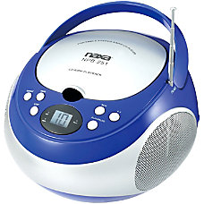 Naxa Portable MP3CD Player With AMFM