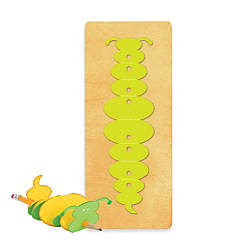 Ellison SureCut Die Pencil Pal Bookworm