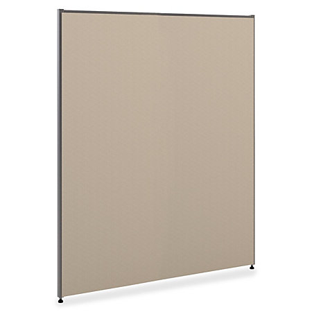 basyx by hon vers partitions gray fabric 60 h x 73 w by office depot