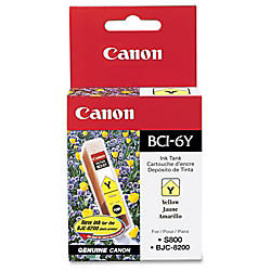 Canon BCI 6Y Yellow Ink Tank