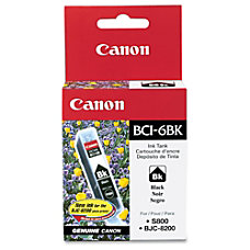 Canon BCI 6 Black Ink Tank