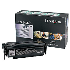 Lexmark 12A8425 Return Program High Yield
