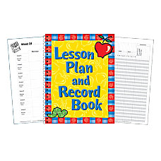Eureka Lesson Plan And Record Books