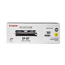 Canon EP 87Y Yellow Toner Cartridge